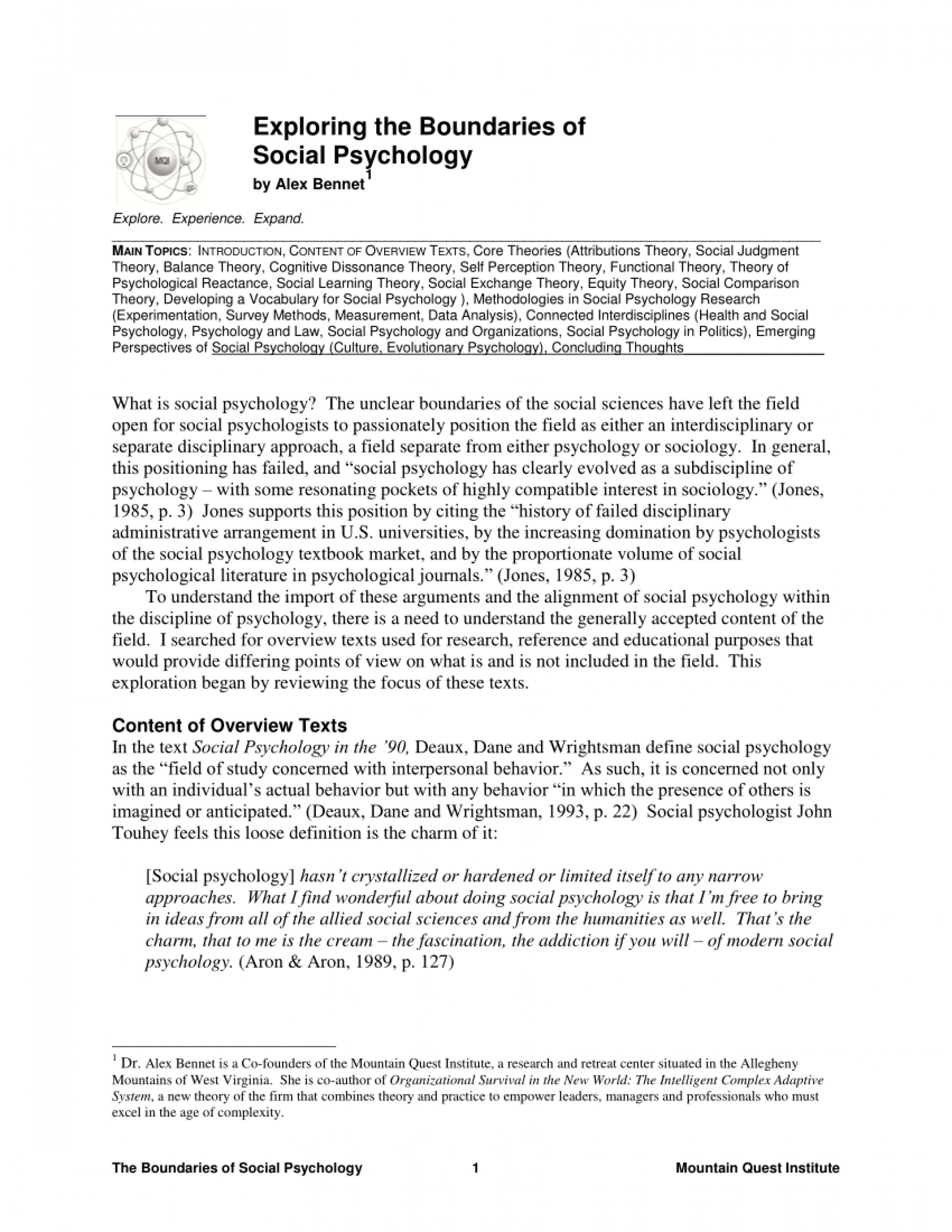 002 Largepreview Research Paper Free On Social Fascinating Psychology 1920