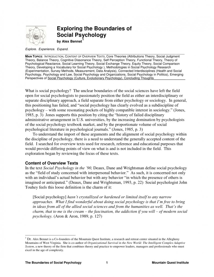 002 Largepreview Research Paper Free On Social Fascinating Psychology
