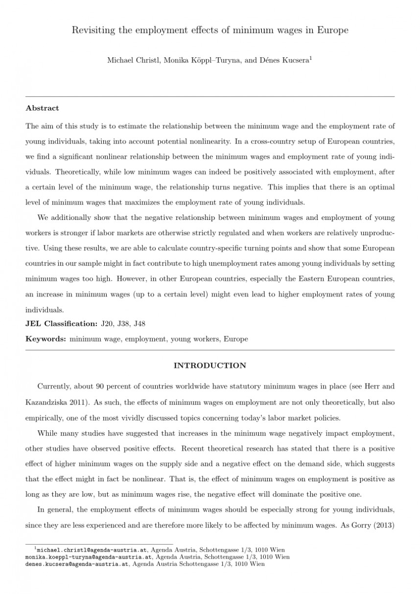 002 Minimum Wage Research Paper Magnificent Thesis Statement Philippines