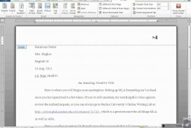 002 Mla Format For Essays And Researchs Using Microsoft Word Stirring Research Papers 2010