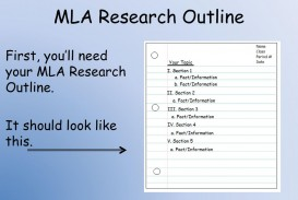 002 Mlaresearchoutlinefirst2cyoue28099llneedyourmlaresearchoutline Itshouldlooklikethis How To Do Notecards For Research Paper Staggering A Mla Make