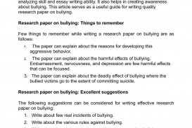 002 P1 Research Paper Wondrous Bullying Title On Topic Pdf