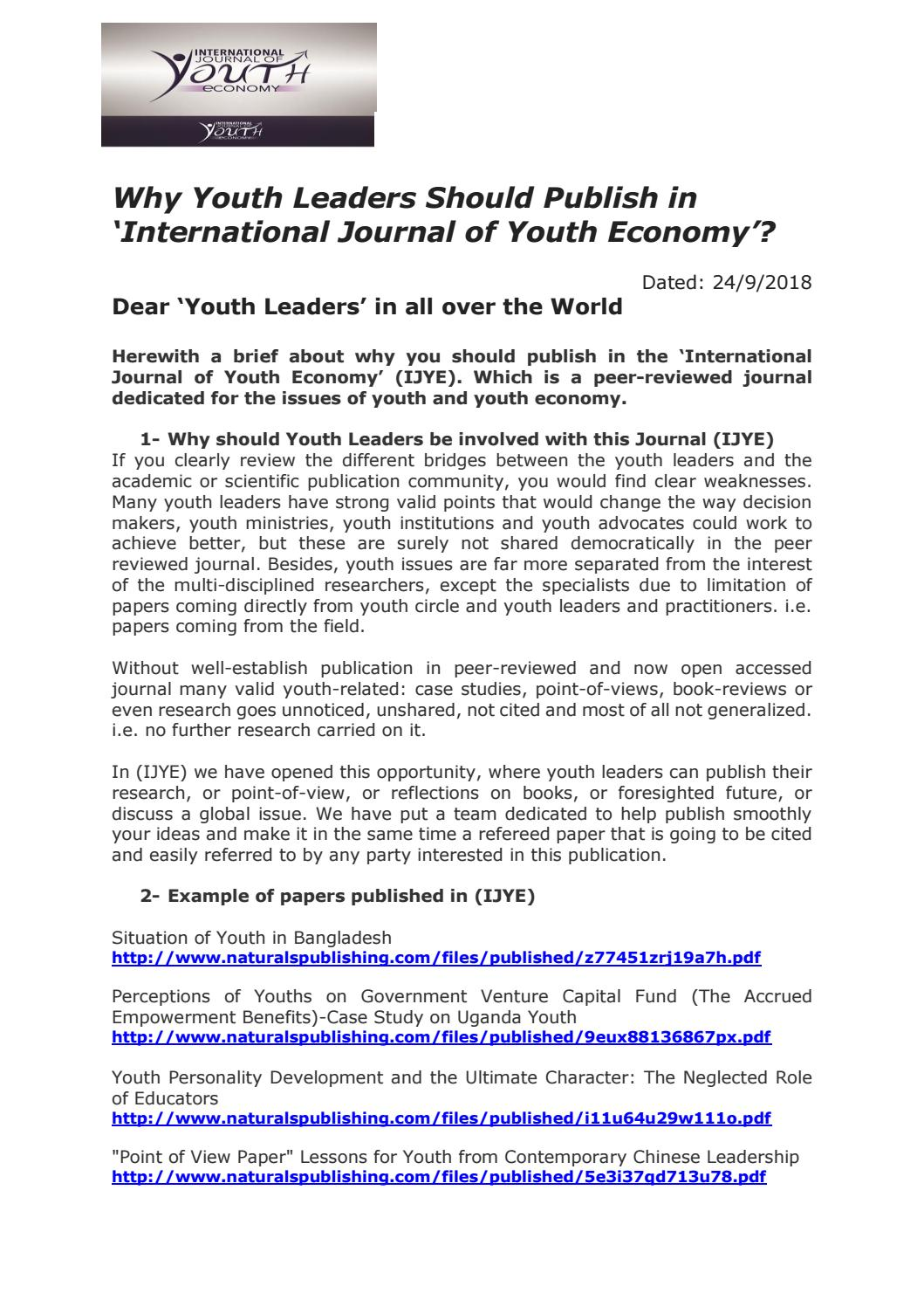 002 Page 1 How To Get Research Paper Published In International Frightening Journal Full