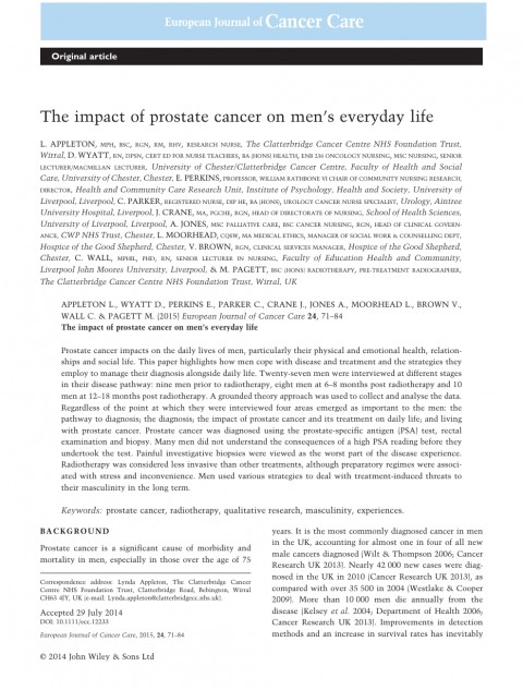 002 Prostate Cancer Research Paper Topics Rare 480