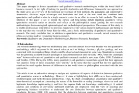 002 Qualitative Research Paper Example Help Amazing A How To Critique Examples Chapter 1