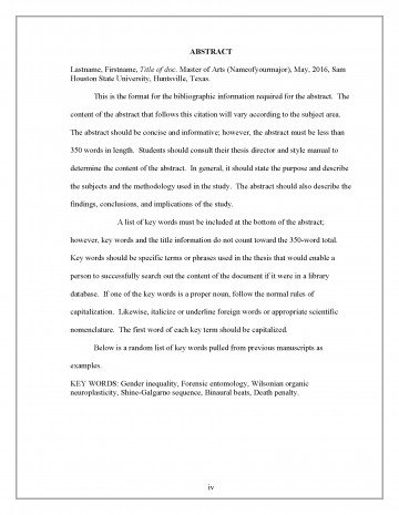 002 Research Paper Abstract Border Section Of Striking A Example And Introduction 360