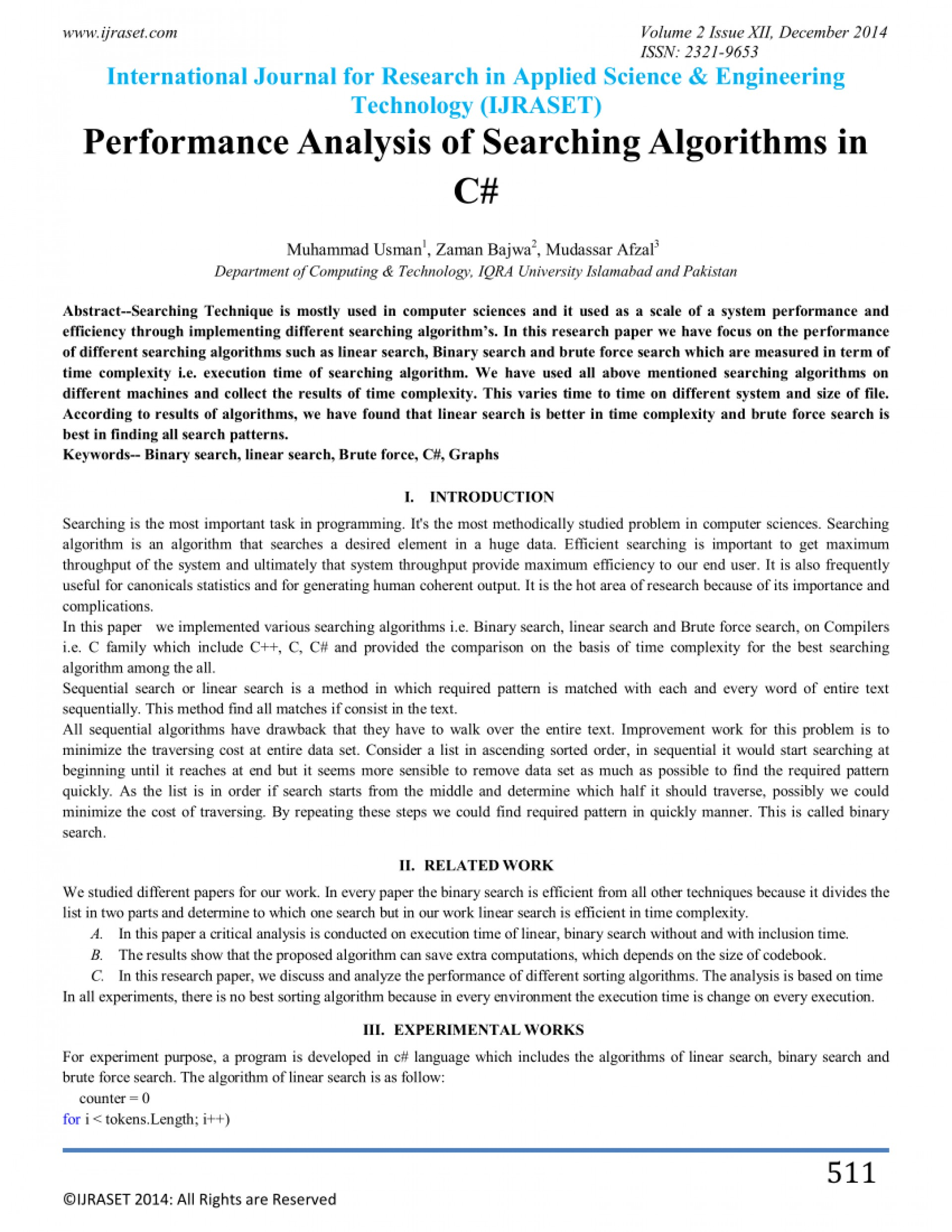 002 Research Paper Binary Search Algorithm Papers Frightening 1920