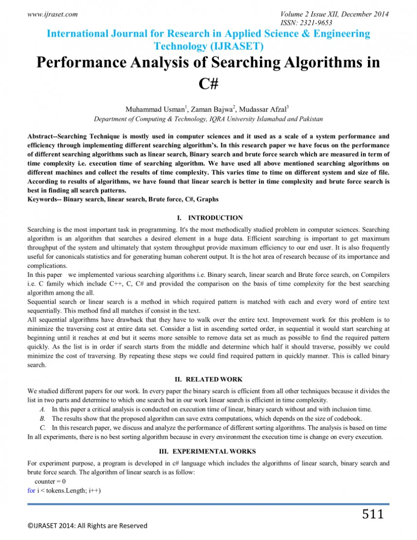 002 Research Paper Binary Search Algorithm Papers Frightening
