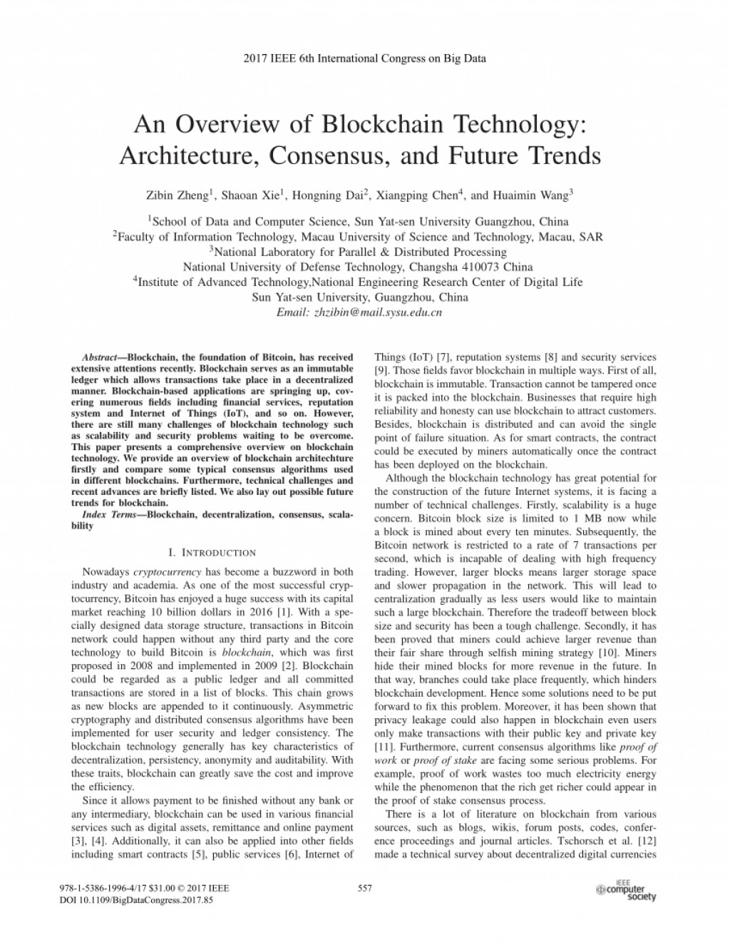 002 Research Paper Blockchain Technology Papers Incredible Large