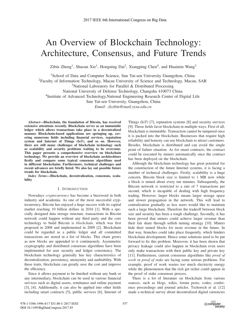 002 Research Paper Blockchain Technology Papers Incredible Full