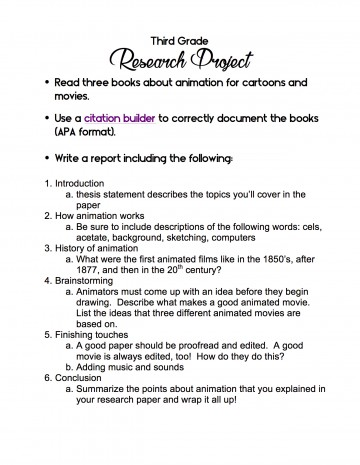 002 Research Paper Cancer Ideas 3rd Grade Shocking Topic 360