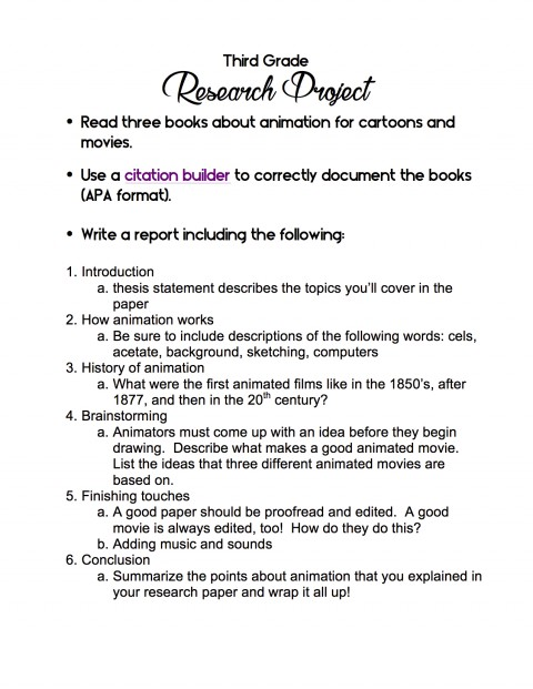 002 Research Paper Cancer Ideas 3rd Grade Shocking Topic 480