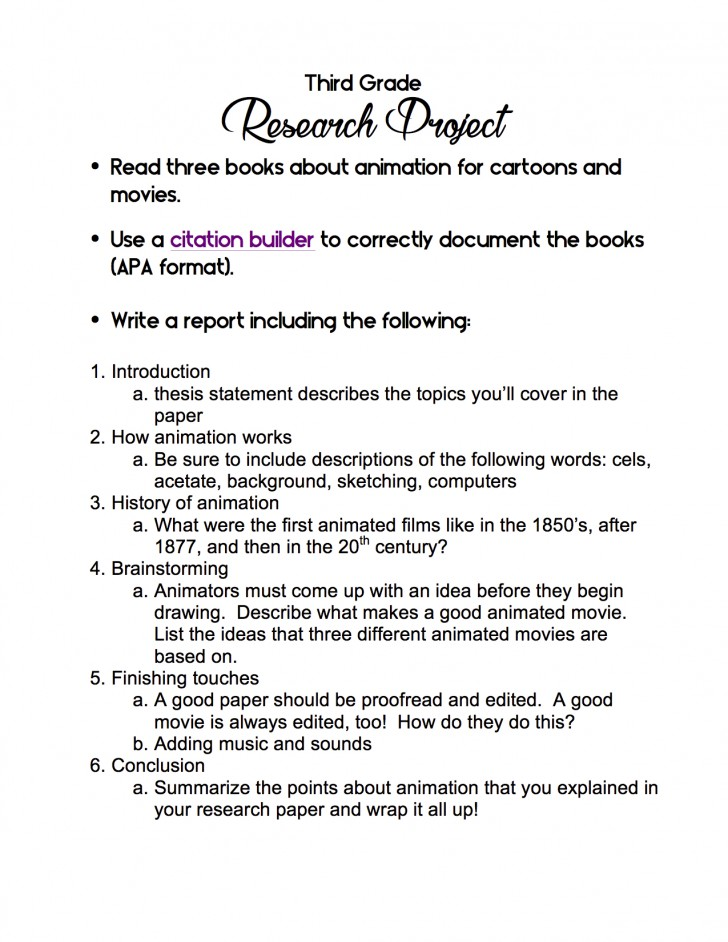 002 Research Paper Cancer Ideas 3rd Grade Shocking Topic 728