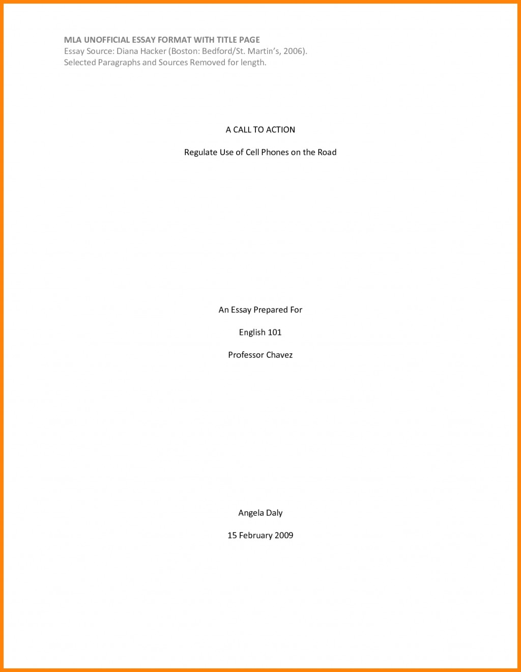 002 Research Paper Cover Page Example For Essay 8 How To Make Marvelous A Mla Large