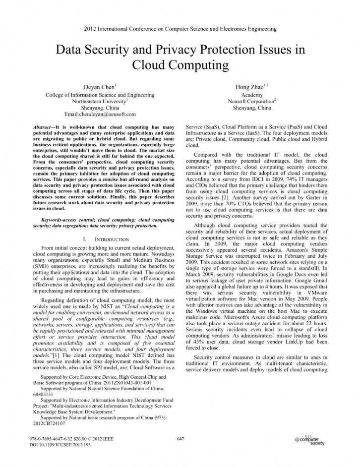 002 Research Paper Database Security Draft Imposing - 728