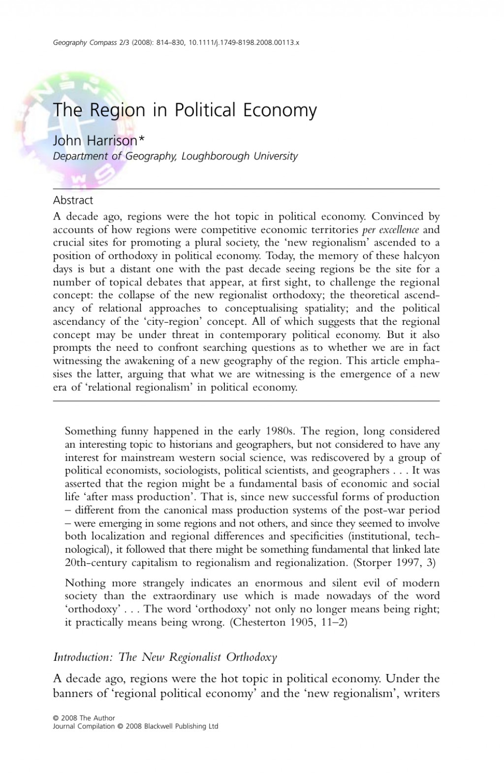 002 Research Paper Economic Geography Topics Wondrous Large