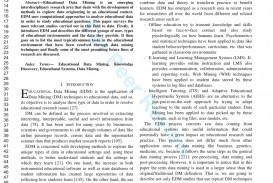 002 Research Paper Educational Data Mining Papers Pdf Sensational