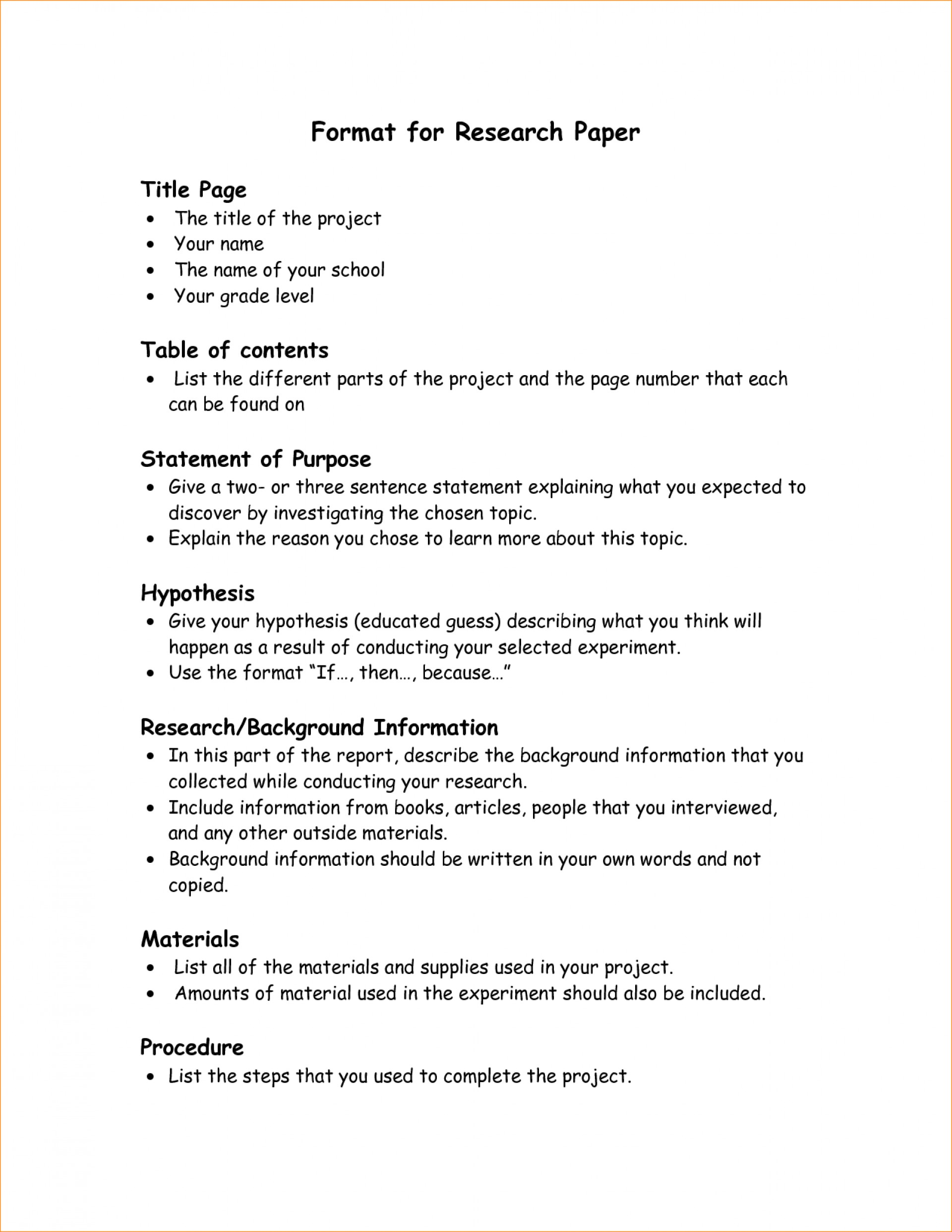 002 Research Paper Format Parts Of Staggering Ppt A Qualitative Chapter 1 1920