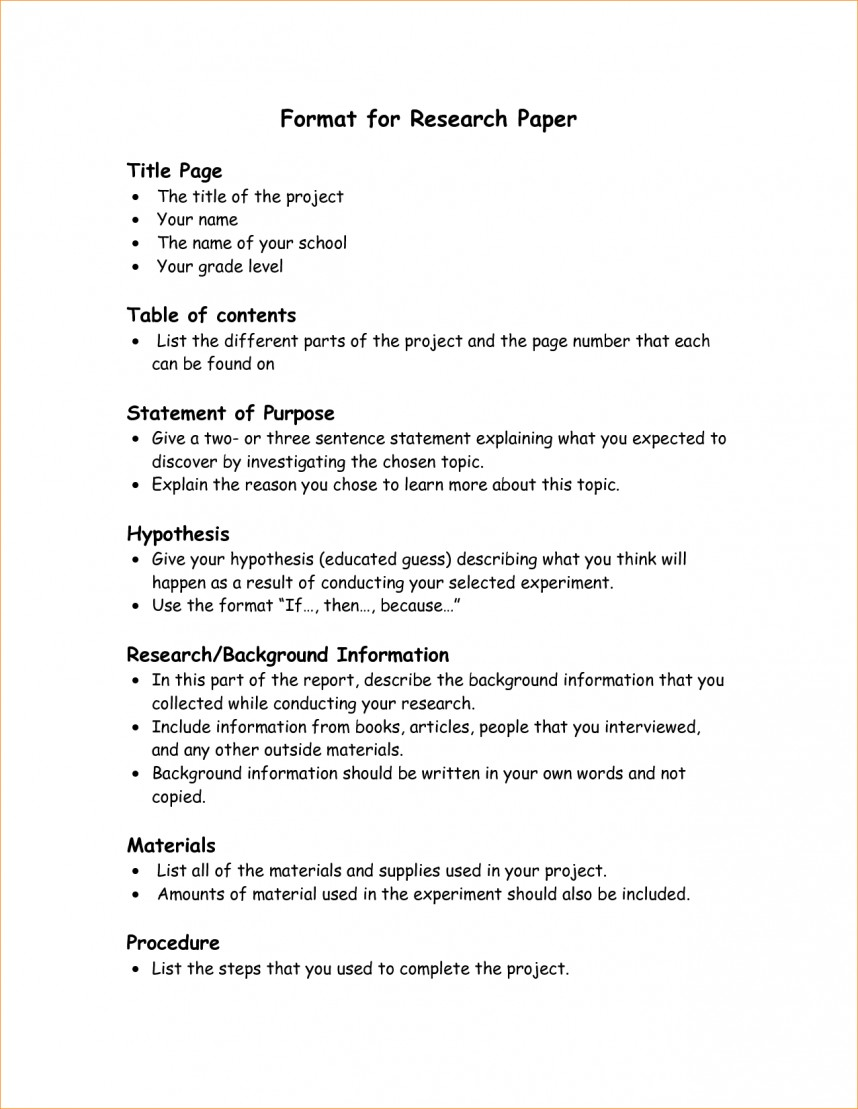 002 Research Paper Format Parts Of Staggering Ppt Chapter 1-5 1 A Qualitative