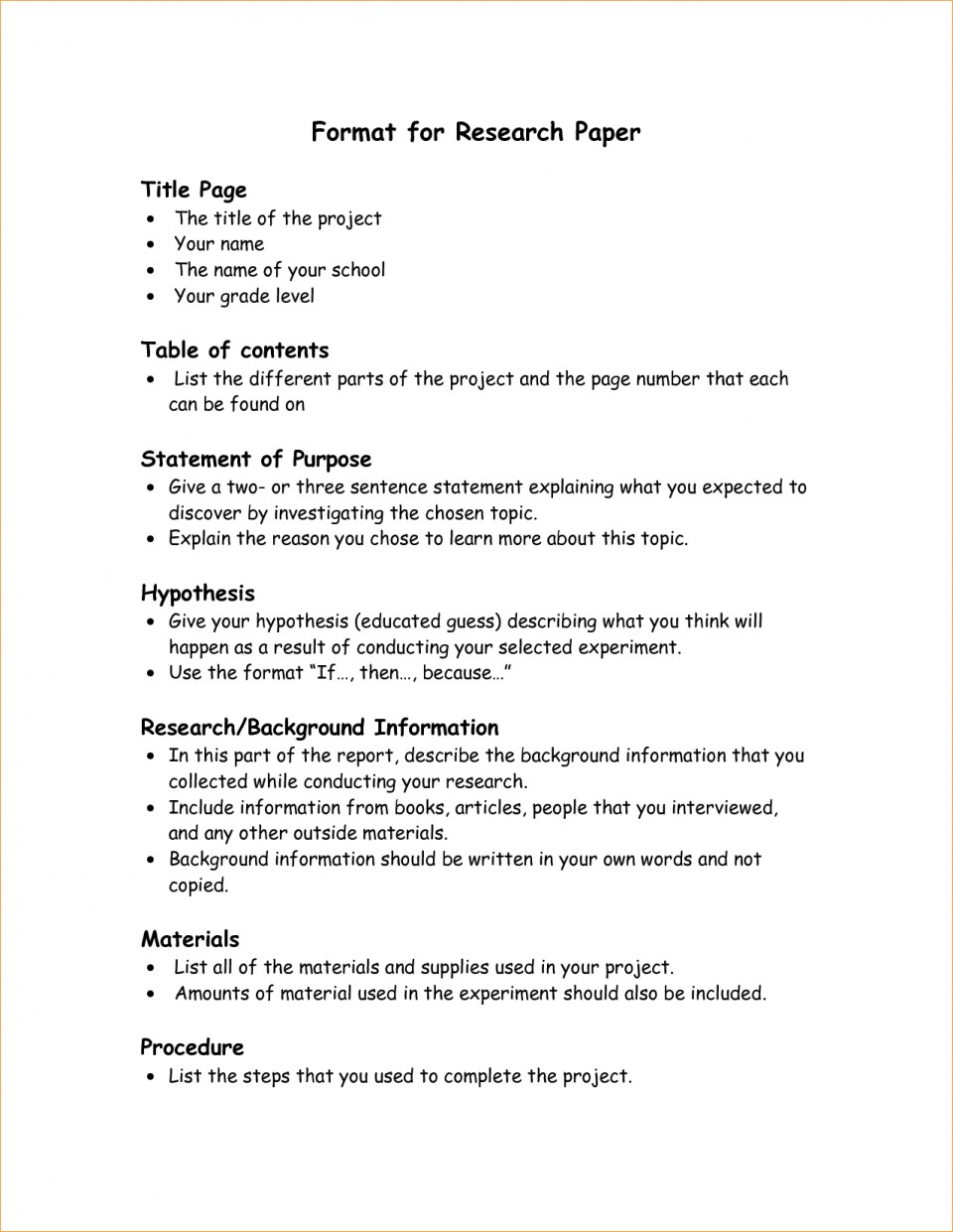 002 Research Paper Format Parts Of Staggering Ppt 5 Chapter 1 A Qualitative 960