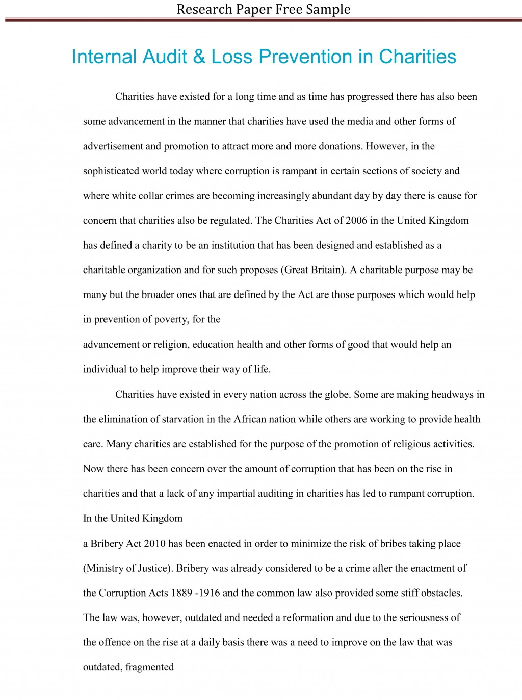 002 Research Paper Free Examples Of College Papers Unusual Large