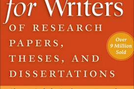 002 Research Paper Frontcover Manual For Writers Of Papers Theses And Dissertations Fearsome A Ed 8