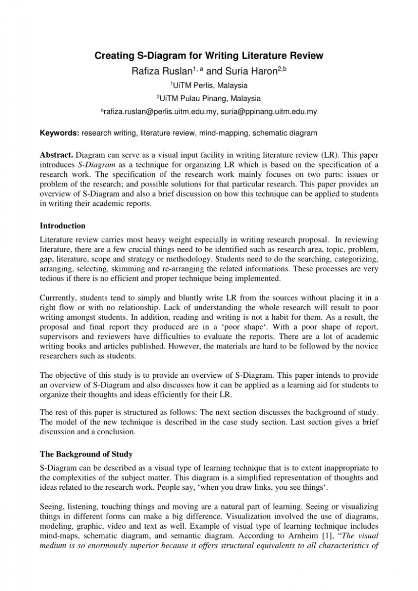 002 Research Paper How To Write Literature Review In Unbelievable A Pdf For Nursing Qualitative