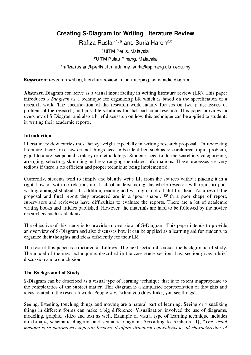 002 Research Paper How To Write Literature Review In Unbelievable A Pdf For Youtube Qualitative Full