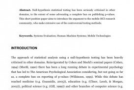 002 Research Paper Hypothesis Testing In Awesome Pdf