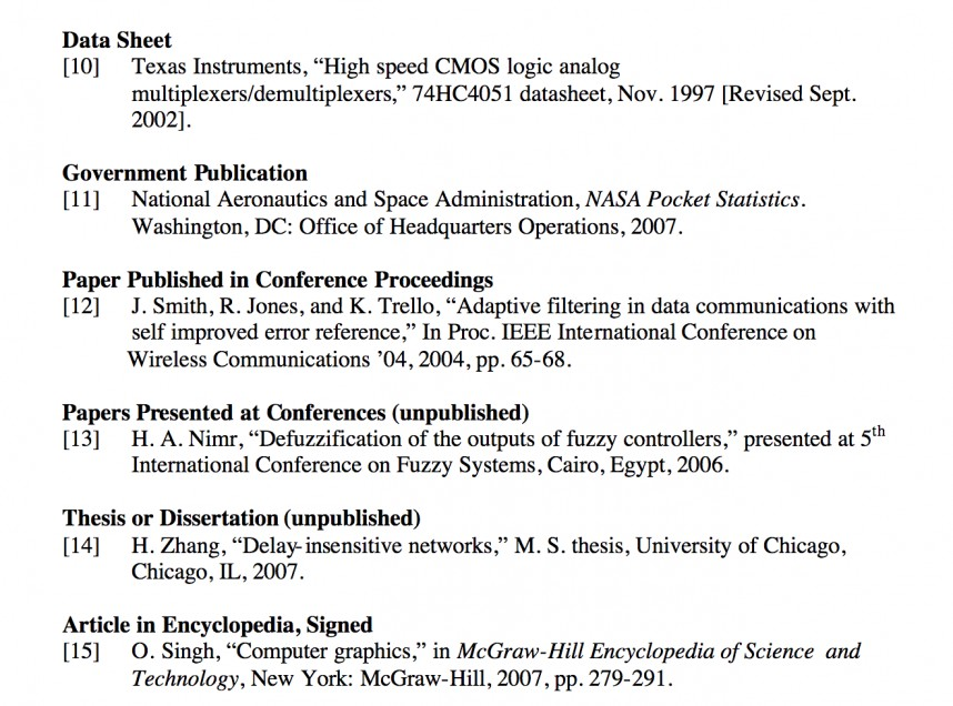 002 Research Paper Ieee Format For References In 6 1528899704 Exceptional