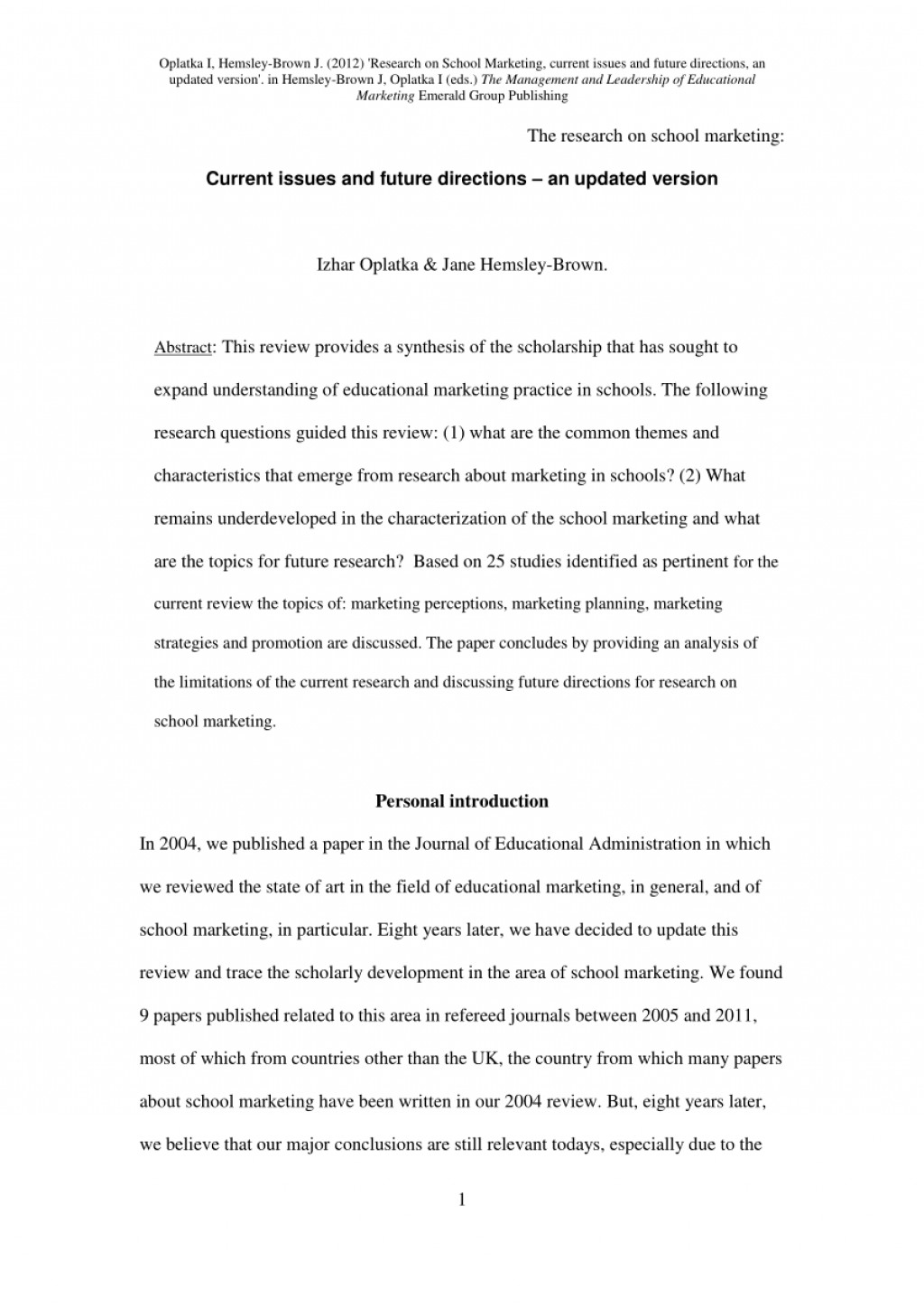 002 Research Paper Largepreview Published Wonderful Papers In Psychology Education Pdf Science Large