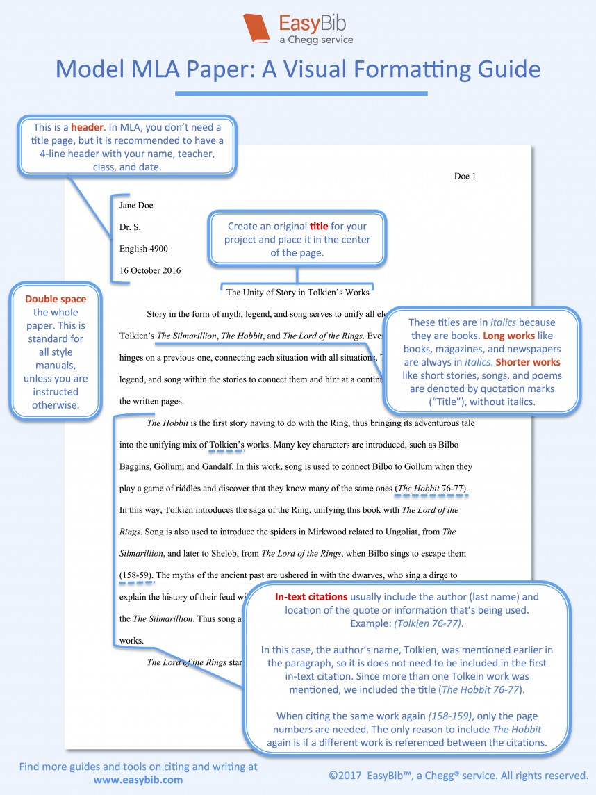 002 Research Paper Model Mla Citing Fearsome Papers Sources In A Website Format Works Cited