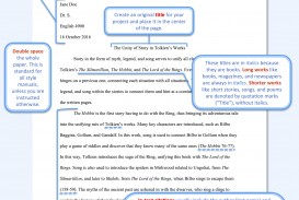 002 Research Paper Model Mla Example Of Using Fascinating Style Writing A Outline
