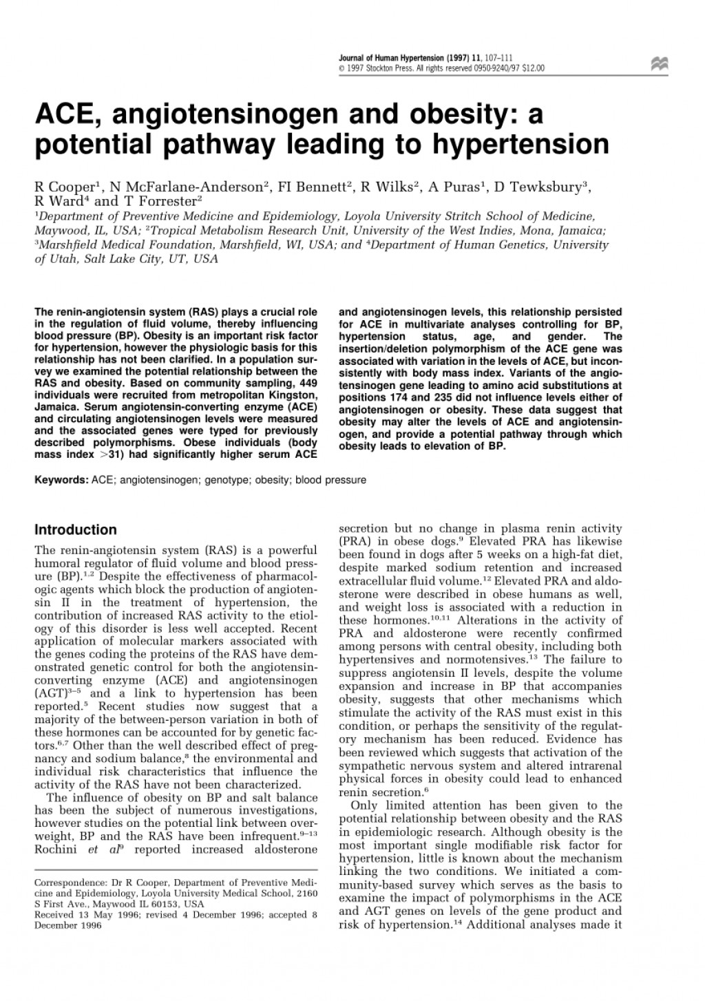 002 Research Paper Obesity And Hypertension Papers Dreaded Large