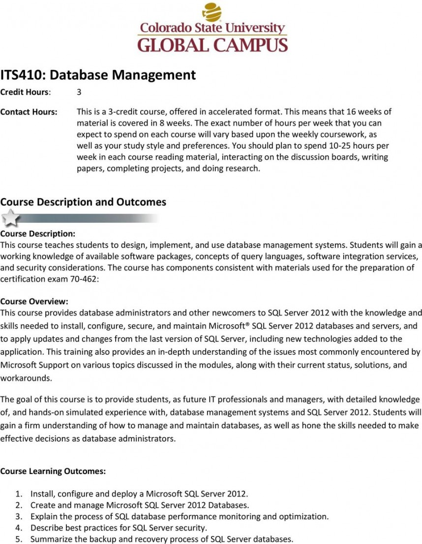 002 Research Paper Page 1 Database Management Amazing Topics On System