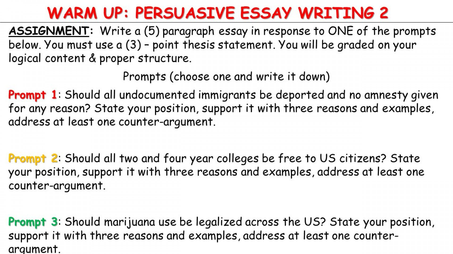002 Slide 1 Point Thesis Statement Examples Research Stupendous 3 1920