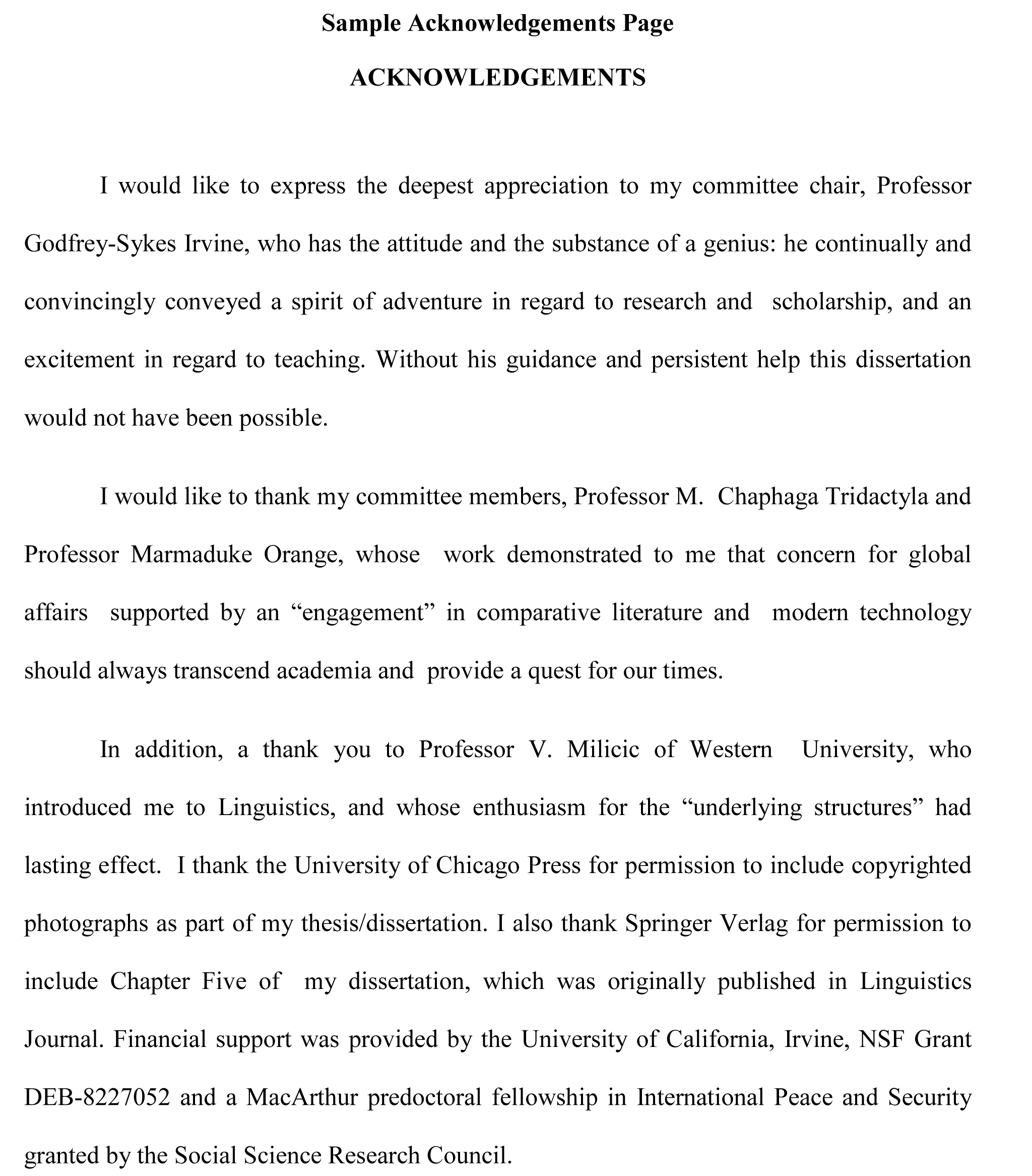 002 Thesis Acknowledgement Sample Example For Research Paper Beautiful Pdf Full
