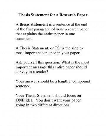 002 Thesis For Research Paper Good Statement Examples Essays Intended Wonderful A On The Holocaust Free Generator Example Pdf 360