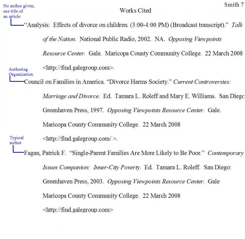 002 Work Cited Page For Research Paper Samplewrkctd Excellent Works A About The Little Rock Nine