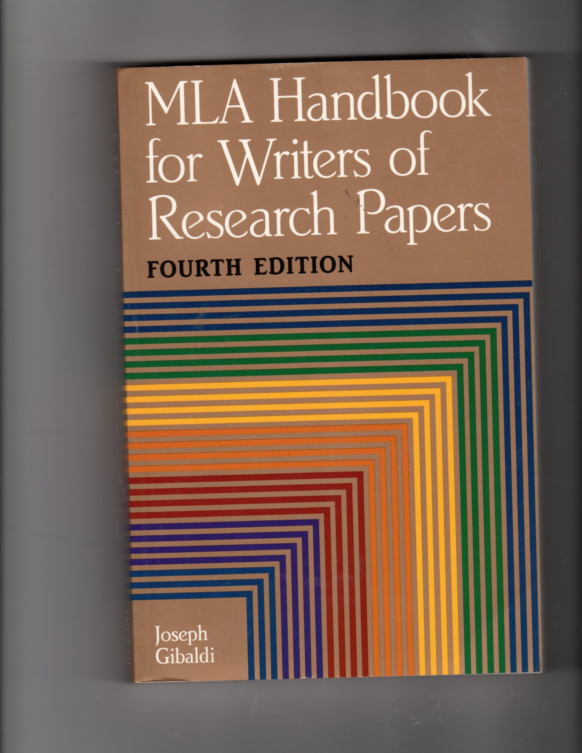 003 91or7esc2gl Research Paper The Mla Handbook For Writers Of Fearsome Papers 8th Edition 7th 2009 (8th Ed.) Full