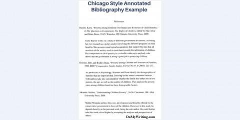 003 Annotated Bibliography Example Chicago Research Imposing Paper Proposal And 480