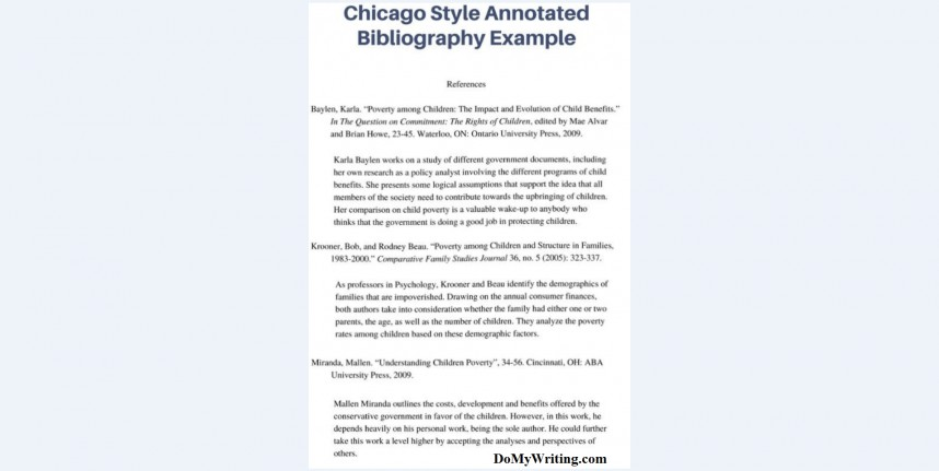 003 Annotated Bibliography Example Chicago Research Imposing Paper Proposal And 868