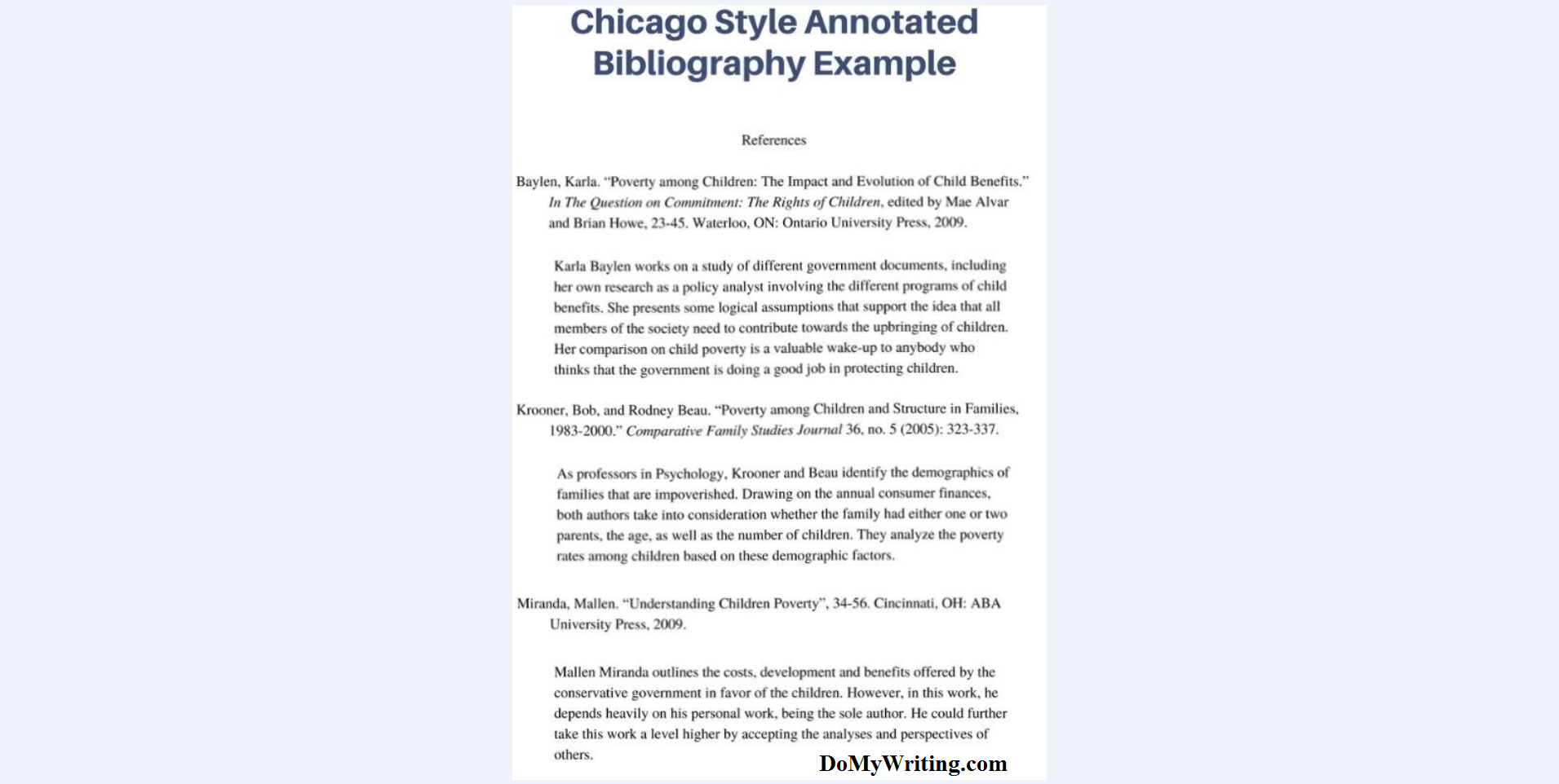 003 Annotated Bibliography Example Chicago Research Imposing Paper Proposal And Full