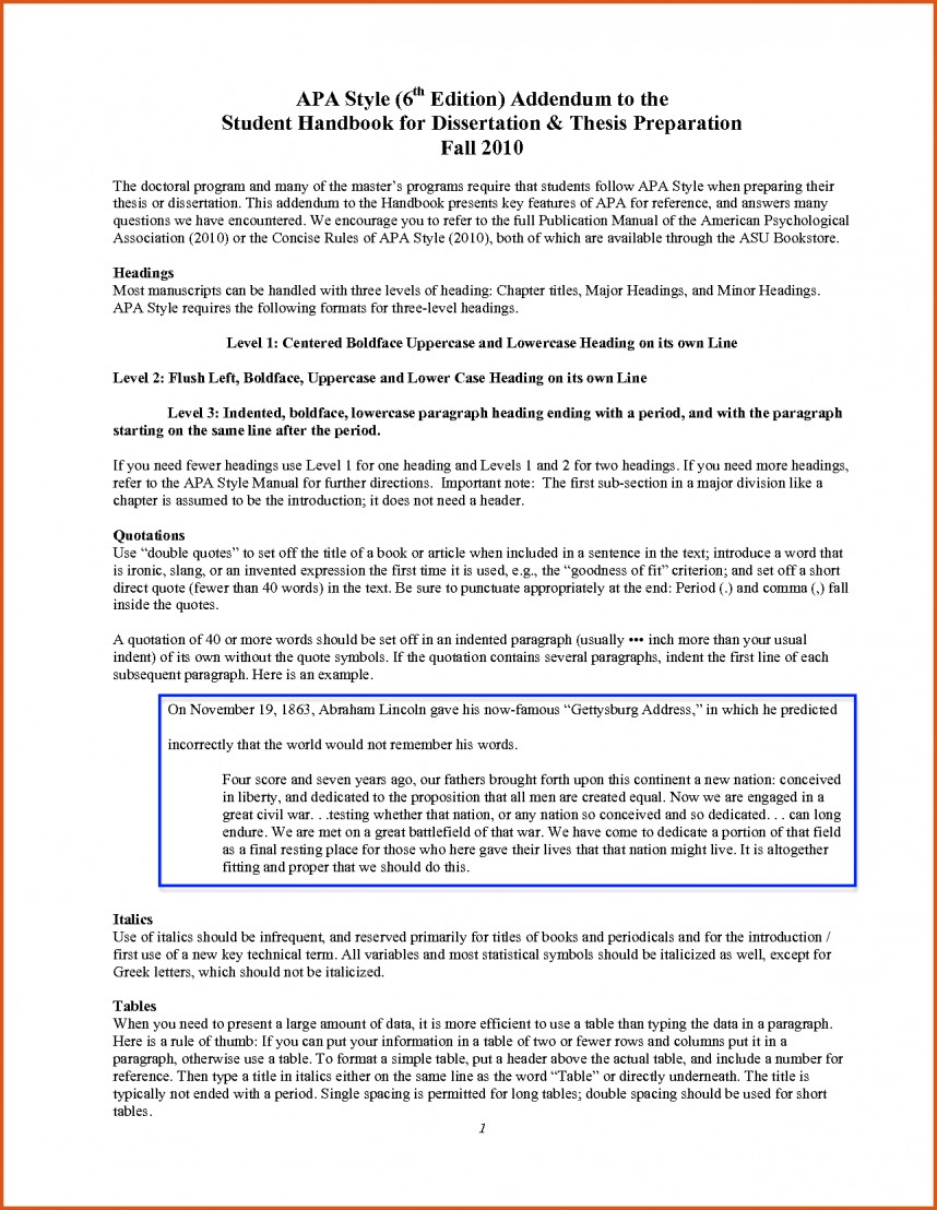 003 Apa 6th Edition Research Paper Headings Bunch Ideas Of Style Guide Example Ive Exceptional