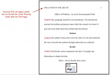 003 Apa Format For Research Paper Imposing Title Page Example References 360