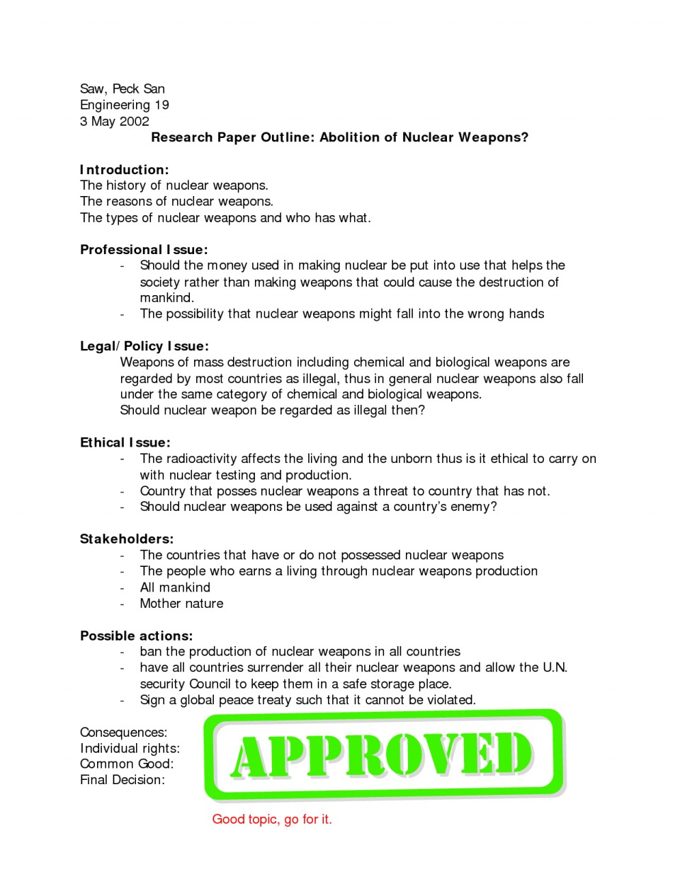003 Argumentative Research Paper Topics History Online Writing Lab Term Outline Essay L Surprising American 960
