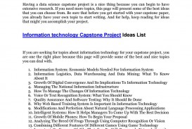 003 Best Topic For Research Paper In Technology Page 1 Shocking Information