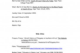 003 Bibliography Page For Research Imposing Paper How To Make A Works Cited Example Citation