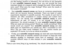 003 Brilliant Ideas Of Scientific Essay Sample Marvelous Write An On Method Paper Examplesch Example Remarkable Research Using