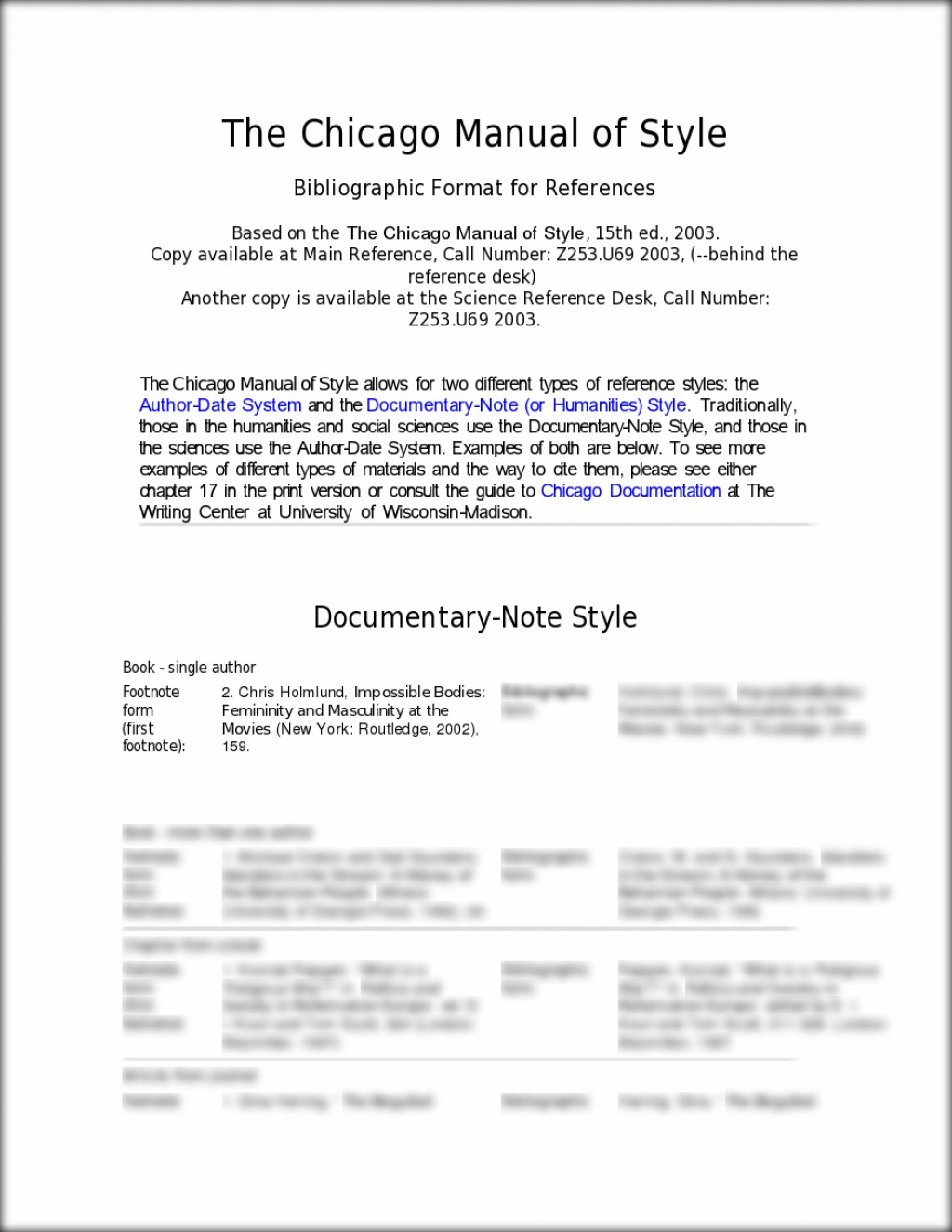 003 Chicago Manual Of Style Research Paper Example Essay L Wonderful Sample Large
